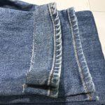 裾上げとアタリ加工(3)|デニムお直し工房