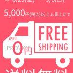 5000円以上で送料無料キャンペーン!【8月25日~9月3日の10日間限定】インターネットを使ってPROVICEでお買い物してみませんか?